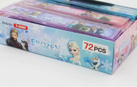 plastic ruler - Fashion Frozen sofia cartoon plastic office rulers box lovelty stationery christmas School gift Ruler