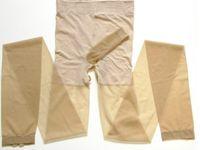 al por mayor pantimedias para hombres-Pantyhose masculino sexy ropa interior hombres calcetines medias negro y color de carne con la manga del pene abierta entrepierna