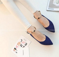 Wholesale New arrival Shallow estuary shoes pointed low top shoes fashion women think shoes