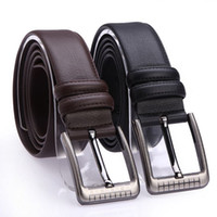 Wholesale New Spring Men Leather Belt High Quality Nagarjuna Grain Genuine Leather Casual Strap Male Ceinture Buckle Belts