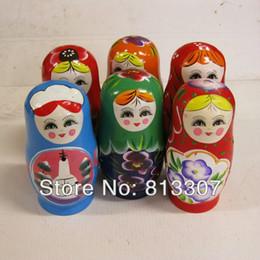 I Miss You Russian Wooden Nesting Doll 5piece Matryoshka Matroshka