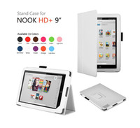"""7'' For Apple For Ipad 2/3 Magnetic Slim Stand Folio Leather Case for Nook HD+ Plus 9"""""""