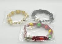 Wholesale bracelet bead smoking pipe for tobacco weed discreet sneak a toke click n vape