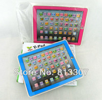 OS XP abc english learning - 2pcs Retail Kid s Educational Toys Y Pad ABC English Tablet Computer Learning Machine Touch Screen
