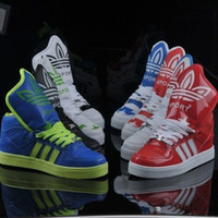 Lace-Up Unisex Spring and Fall New high-top men and women Hip-hop shoes, skateboarding shoes big tongue !!