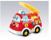 Airplanes Electric 2 Channel Electric toy department of music fire truck flash music whistle