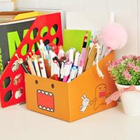 Wholesale 6458 Korea where gifted creative new Domo kun five grid storage box storage box paper
