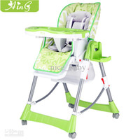plastic tables and chairs - Promotion Baby Child aing Baby Dining Chair Multifunctional Folding Dining table And Chairs Seat Colors