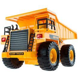 Wholesale Wireless remote control toy car dump truck transportation car remote control dump trucks
