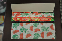 Wholesale hornet herb rolling papers25 water melon flavored papers smoking rolling papers rolling machine grinder smoking pipe