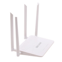 Wholesale US Stock Mbps IEEE b g n Dual Band G Wireless Wi fi Router Two External Antenna Internet Share for Laptop Tablet PC Smartphone