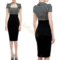 Wear to Work Bodycon Dresses Winter 2014 Women Bodycon Winter Sexy Knee Length Bandage Celebrity Casual Dress