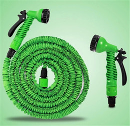 Wholesale Expandable Plastic Hose FT flexible Garden water Pipe With Spray Nozzle For washing Car Pet Bath watering garden