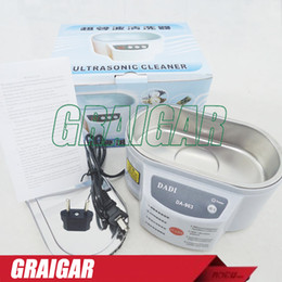 Ultrasonic Cleaning Machine DADI DA-963 220V or 110V Stainless Steel 30W Ultrasonic Cleaner