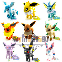 Wholesale Anime New quot Pokemon Eevee ESPEON SYLVEON VAPOREON JOLTEON Plush Toy PC2274