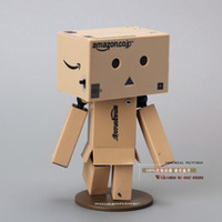 amazon led lights - 10pcs Lovely Danboard Mini PVC Action Figure Toy Danbo Doll with LED Light Amazon Style cm OTFG081