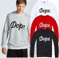 Wholesale 2014 Fashion Shirt Man Colors Cheap Dope Hoodies Hiphop Skateboard O neck Size M To xl Hoody