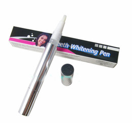 Wholesale 1405z TB Teeth Whitening pen in box Oral Hygiene Tooth Whitening pen Tooth Whitener kit Scaler