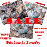 Pendant Necklaces Bohemian Women's Sale!! Super Value Jewelry Wholesale NECKLACE BRACELET EARRING RINGS HAIR JEWELRY Mixed Fashion Jewelry Mixed Styles