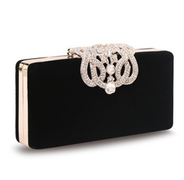2017 chain bag women s handbag Nouveau sac à main féminin pour les femmes à prix élevé en cuir chevronné au diamant Crowne Velvet Hard Case promotion chain bag women s handbag