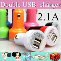 other aa iphone charger - 2000XX Colorful Dual USB Port Car Charger Cigarette A Auto Power Adapter for iphone ipad Samsung AA