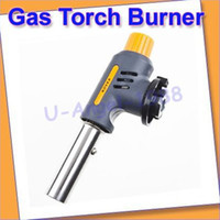 Wholesale Gas Torch Butane Burner Auto Ignition Kovea Camping Cooking BBQ Flamethrower NEW