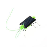 Wholesale 1 Educational Solar Powered Toy Gadget Kids solar dancing toys insect solar energy Gadget Robot toy