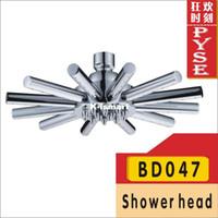 Without Diverter Water Saving Shower Heads Chrome Free shipping BD047 brass water saving shower head bath shower rain shower head overhead shower