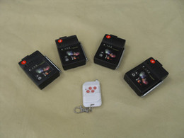 Wholesale New Year HK Cues T04 Equipment Fireworks Firing system ignition Radio fire step big remote Electronic Wire display wedding discharge