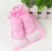 Wholesale EMS FREE Baby Infant Fashion Shoe Socks CONVERSE Baby Boys Girls Crib Shoes Booties Socks Boot Sock Breathable Newborn Baby D Sock SC07