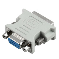 Wholesale 10 DVI to VGA Converter connects computers with DVI connectors to analog VGA monitors or projectors