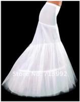 Wholesale GOOD price and quality mermaid petticoat hoops white wedding dress crinoline