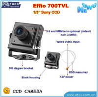 Indoor Pinhole CCD 1  3 Sony HD mini camera security surveillance camera CCD 700 lines With OSD