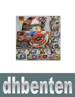 Wholesale LJP125 Beyblade Metal Fusion D System LOOSE Battle Top Set masters for kids game toys