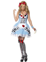 Wholesale Sexy Alice In Wonderland Fancy Dress Halloween Party Costumes