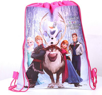 Wholesale Frozen barbie Mario Bros peppa pig Despicable Me Winnie The Pooh thinkbell Cartoon children s school bag Kid s backpack baby part gift