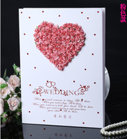 Wholesale Guest book fingerprint Wishing tree Canvas CM with designs inkpad free customized new European hot selling wedding favor Unique T5888