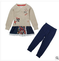 Spring / Autumn in season clothing - NOVA small new star children s clothing in age season the latest foreign trade cotton casual and comfortable suit
