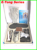 acupuncture accessories - 2014 newest design E Tong Laser tens Acupuncture digital Therapy Machine massager with accessories Hypnosis cupping pass CE and ROHS