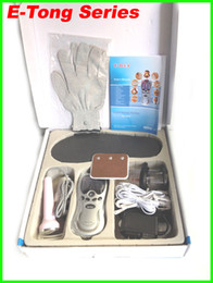 2014 newest design E-Tong Laser tens Acupuncture digital Therapy Machine massager with 8 accessories, Hypnosis , cupping, pass CE and ROHS