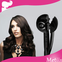 EU Black 25w-39w Magic Hair Curler Style 16-20Mm Thermal Conductor Curl Secret Professional Abs Material Curling Wand