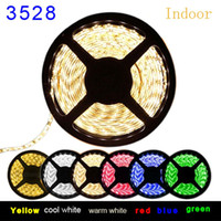 ribbon strip - Horrifying Price LED Strip Light Ribbon Single Color Meters Leds SMD Non waterproof DC V White Warm Red Green Blue Yellow