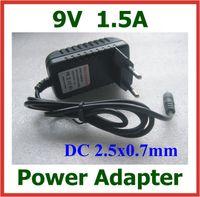 Wholesale 100pcs AC V to DC V A x0 mm mm Charger EU US Plug Power Adapter Supply DHL