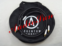 Cable audiophile amp - Argentum Acoustics MYTHOS Audio RCA Interconnect Cable for amp audiophile M