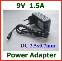 Wholesale 200pcs AC V to DC V A x0 mm mm Charger EU US Plug Power Adapter Supply DHL