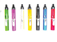 Wholesale With bags Click N Vape Mini Herbal Vaporizer Trouch Flame Lighter weed with built in Wind Proof Torch Lighter smoking pipe