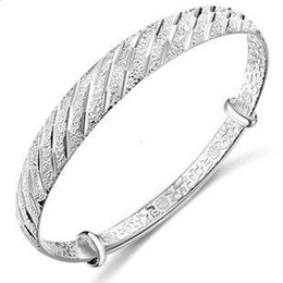 women's silver plated bangle Meteor shower bangle hot selling 10pcs lot popular christmas gift