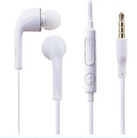 Wholesale 500PCS J5 Flat In Ear Earphones Headphones with Remote and MIC for Samsung Galaxy Note S2 S3 S4 Free DHL shipping