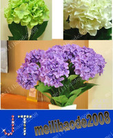 Christmas large silk flowers - High simulation flower hydrangea large single flowers artificial flowers silk flower MYY1043