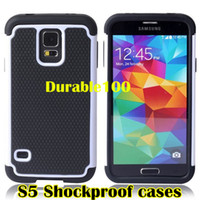 Wholesale Heavy rugged shockproof housing cover PC TPU Hybrid Case for Samsung Galaxy S4 S5 Iphone S S